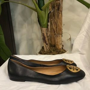 Tory Burch Shoes - NEW Tory Burch Chelsea Leather Ballet Flats